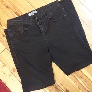 Wit and Wisdom AB Skinny Black Jeans, size 6